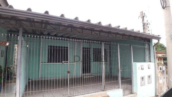 Casa Com 2 Dormitórios Para Alugar, 91 M² Por R$ 1.000/mês - Vila Teixeira - Campinas/sp - Ca13135