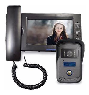 4502 Videoportero C/ir,monitor Tft Color 7, Cnx 4 Hilos