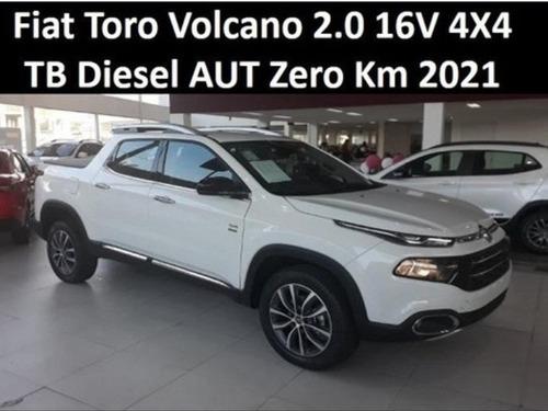 Fiat Toro Volcano 2.0 16v 4x4 Tb Diesel Aut Zero Km 2021