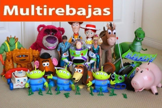 Colección De Juguetes Toy Story
