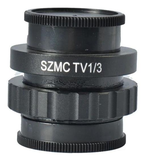 Szm 1/3 Ctv Câmera Ccd Microscópio Adaptador Montagem