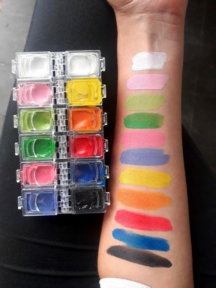 Maquillaje Artistico Paleta Aquabonds