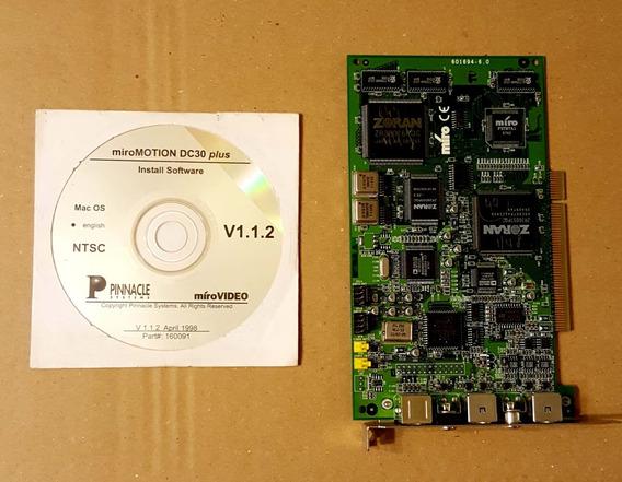 Placa Edicion De Video Miro Dc30+ Plus Pc Y Mac