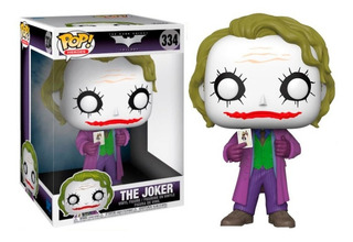 The Joker Batman The Dark Night Dc Funko Pop!#334 10 Inch