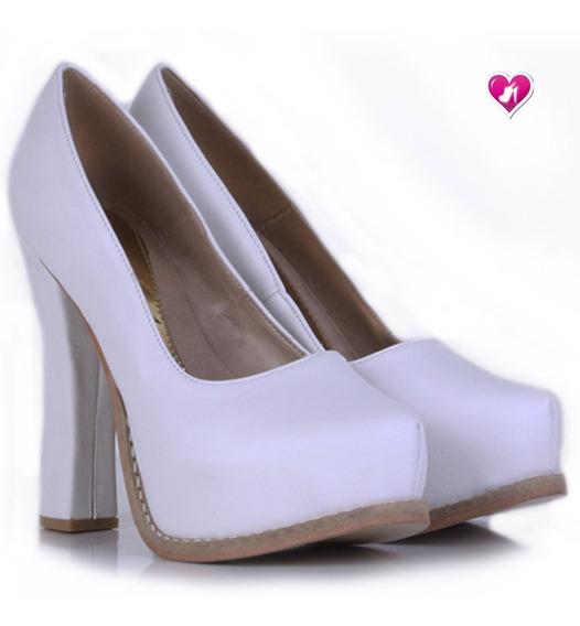 Stilletto Sexy Cuero 15 Años Novia Mod Paris De Shoes Bayres