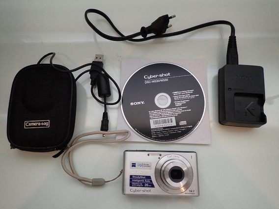 Camera Digital Cyber-shot 14.1 Mega Pixels Sony Dsc-w530