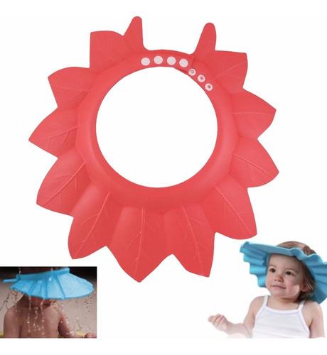 Sombrero Gorro De Baño Ajustable Para Bebe Mifanqi Rojo