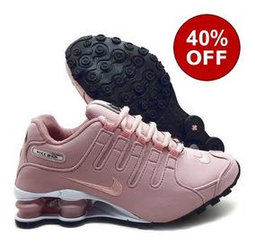 Tênis Nike Shox Nz Eu Original Feminino Rosa Rose Promoção