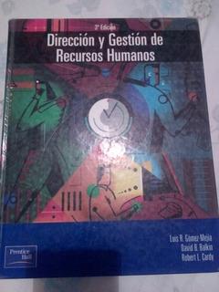 Libro Direccion Y Gestion De Recursos Humanos