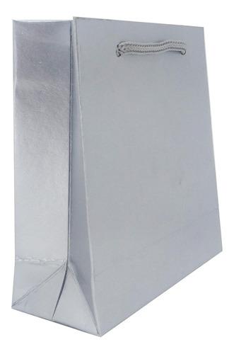 Sacolinha De Papel Para Presente - 10x10x4 Cm - 100 Unidades