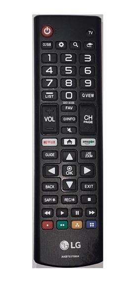 Control Lg Akb75375604 Nuevo Original Para Tv Smart