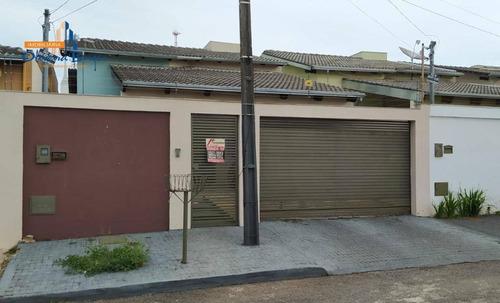 Casa Com 3 Dormitórios À Venda, 125 M² Por R$ 390.000,00 - Jk Parque Industrial Nova Capital - Anápolis/go - Ca1855