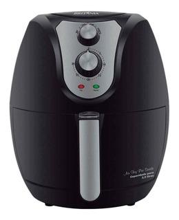 Fritadeira sem óleo Britânia Air Fry 3.2 L Pro Saúde preta 110V