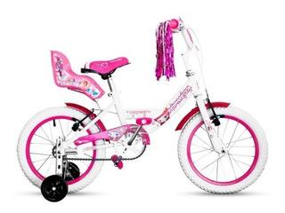 Bicicleta Niña Topmega Princess Rodado 16