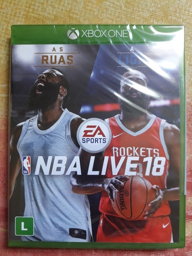 Nba Live 18 Jogo Basquete Xbox One Mídia Física Lacrado Novo