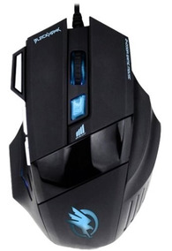 Mouse Gamer Fortrek Black Hawk Om703 - 2400dpi 7 Botões Usb