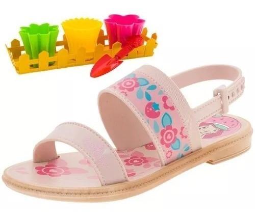 Sandália Infantil Moranguinho Frozen Barbie Ladybug Lol