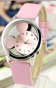 Relógio Desenhos Animados Mickey Mulheres
