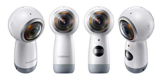 Câmera Samsung Gear 360° Modelo 2017 Usada