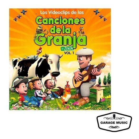 Los Videoclips De Las Canciones De La Granja Vol. 1 - Dvd