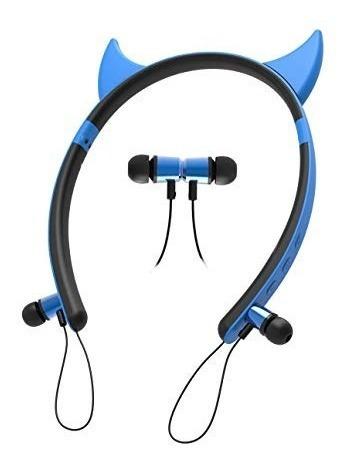 Fone De Ouvido Bluetooth Orelha Ear Zw Cat Devil Deer Rabbit