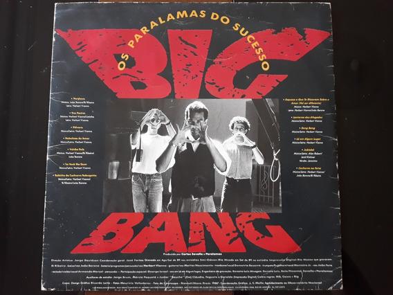 Lp Disco Os Paralmas Do Sucesso Big Bang (encarte+disco)