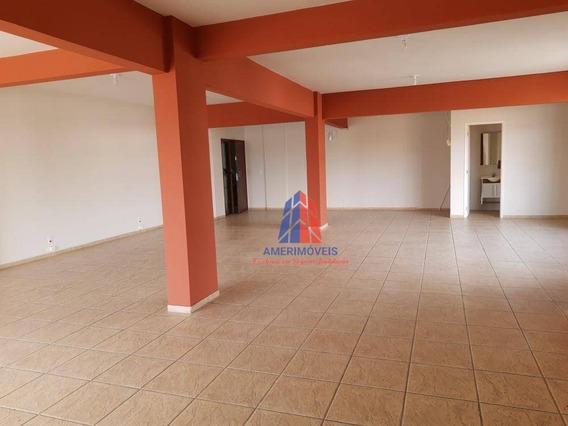 Sala Para Alugar, 104 M² Por R$ 1.100/mês - Edifício Rose Moutran - Jardim Girassol - Americana/sp - Sa0043