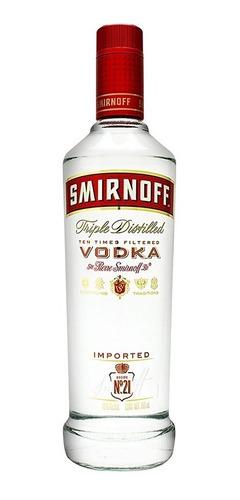 Imagen 1 de 6 de Vodka Smirnoff   De 750ml.