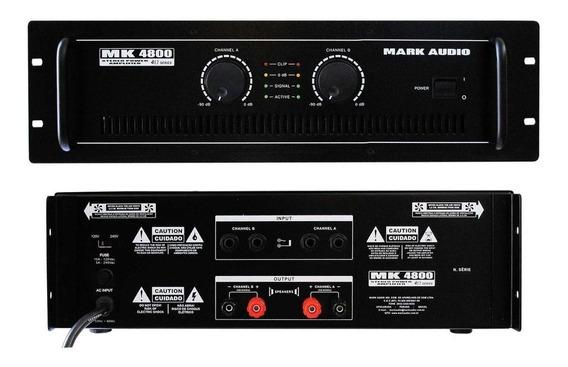 Amplif.markaudio De Potencia Mk4800/a