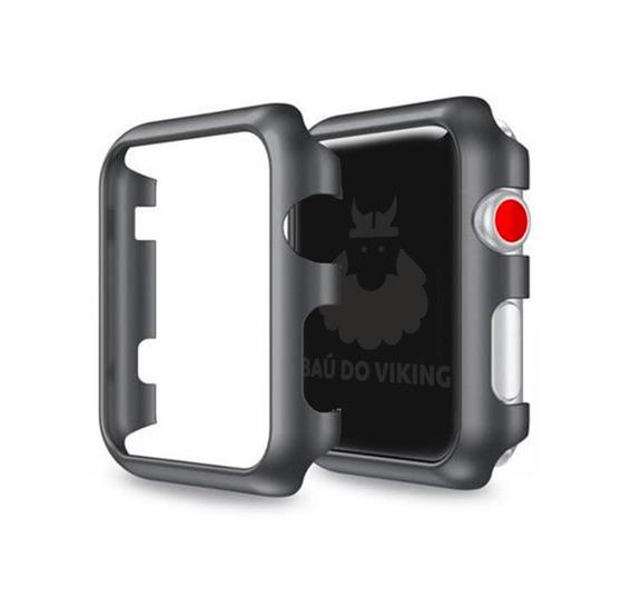 Case Bumper Rigido Slim Milanese P/ Apple Watch 38 40 42 44