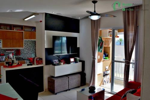Imagem 1 de 15 de Surpreenda Se Com Este 2 Dormitórios Vista Livre Varanda Gourmet No Macuco - 2711