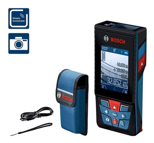 Medidor De Distancia Láser Bosch 120m Glm 120 C Exteriores