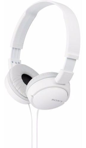 Fone Ouvido Headphone Original Mdr-zx110 Sony Branco Zx110