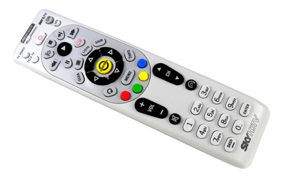 Controle Remoto Sky Hdtv Hd Plus C / Chave Original Semi