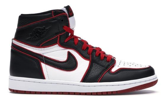 Tênis Nike Air Jordan 1 Retro Bloodline (fotos Reais)