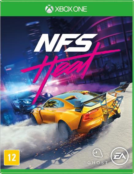 Need For Speed Heat Xbox One Mídia Física Lacrado Português