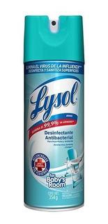 Desinfectante Antibacterial Lysol, Elimina Influenza