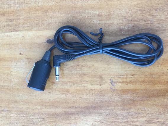 Antigo Microfone De Lapela