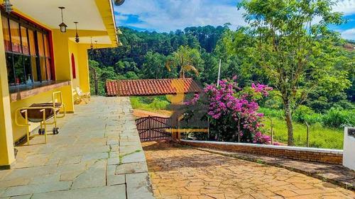 Imagem 1 de 30 de Chácara Com 6 Dormitórios À Venda, 2820 M² Por R$ 1.500.000,00 - Bosque Das Pedras - Bragança Paulista/sp - Ch0704