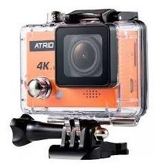 Câmera Atrio Fullsport 4k -p/ Moto / Mergulho / Capacete