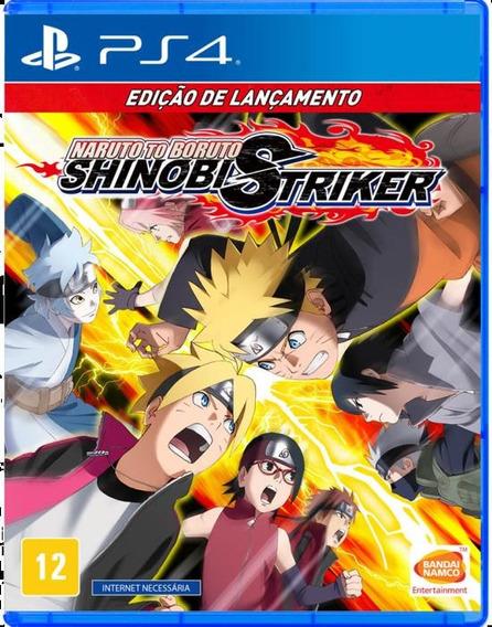 Jogo Mídia Física Naruto To Boruto Shinobi Striker Para Ps4