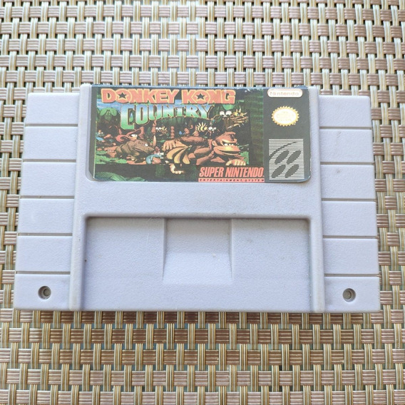 Donkey Kong Country 1 - Snes Super Nintendo - Paralelo