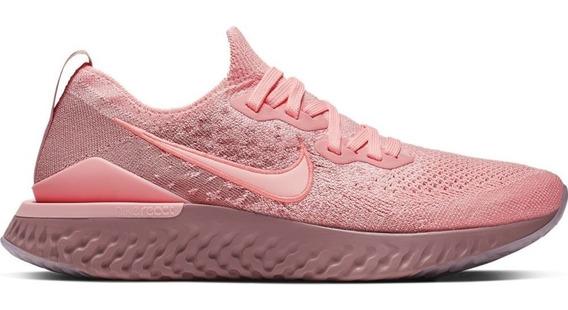 Tenis Nike Epic React Flyknit 2 Correr Gym Fly Mujer Jordan