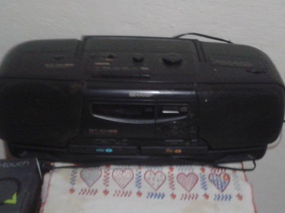 Rádio Gravador Sharp Qt-ch88 # Muito Novo # Raridade