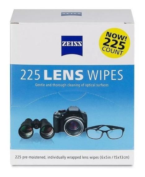 225 Lenços Zeiss - Limpeza De Óculos E Lentes Em Geral