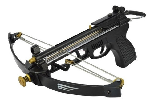 Besta Crossbow Ntk Macuxi 10 Flechas 50 Esferas 6 Carreteis
