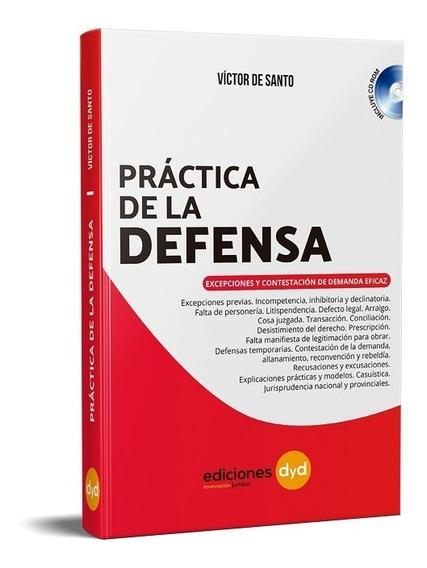 Práctica De La Defensa. De Santo - Ediciones Dyd Con Cd