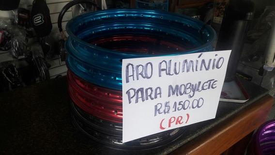 Aro Aluminio 17 Para Mobylette Preco Do Par 150.00
