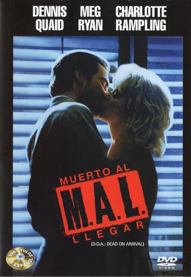 Mal Muerto Al Llegar Dead On Arrival 1988 Pelicula Dvd