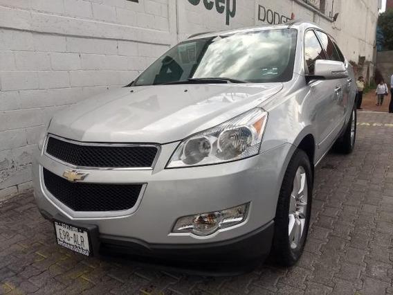 Chevrolet Traverse Suv 5p Ta A/ac. Aut. Piel Qc Dvd Abs Ra